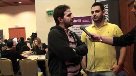 Μίλτος Κυριακίδης και Ανδρέας Χαλκιαδάκης μιλούν στην κάμερα του Pokerland.gr