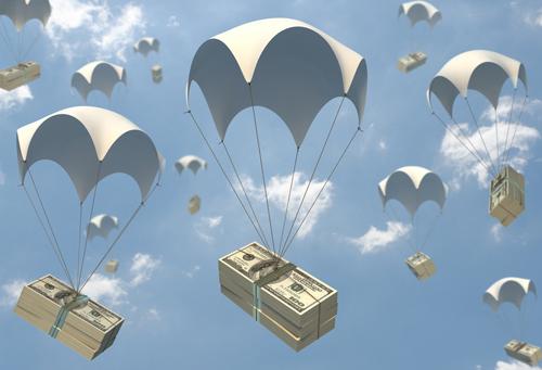 money_parachute