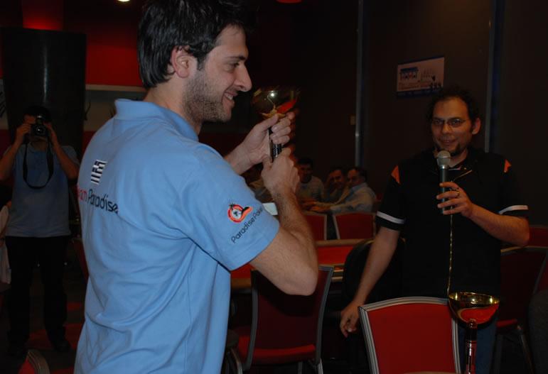 Ο Χρήστος στο Greek Poker Championship 2