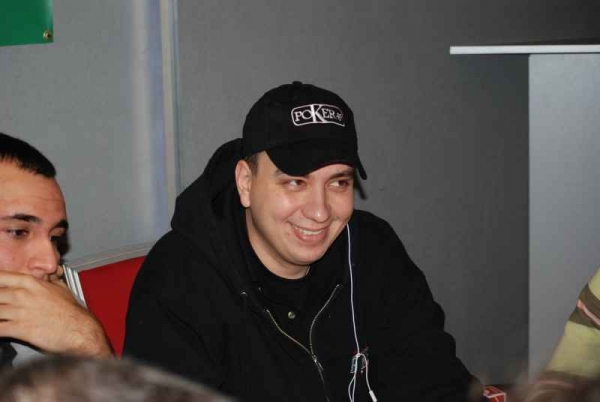 Ο Χάρης στο Greek Poker Championship