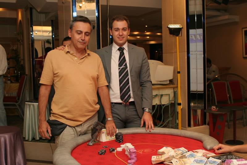 Ο Νίκος Πανόπουλος με το Γιώργο Τσονούλη