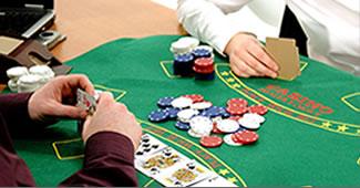 τραπέζι πόκερ