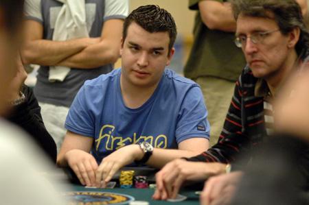Chris Moorman sunantisi me pokerland