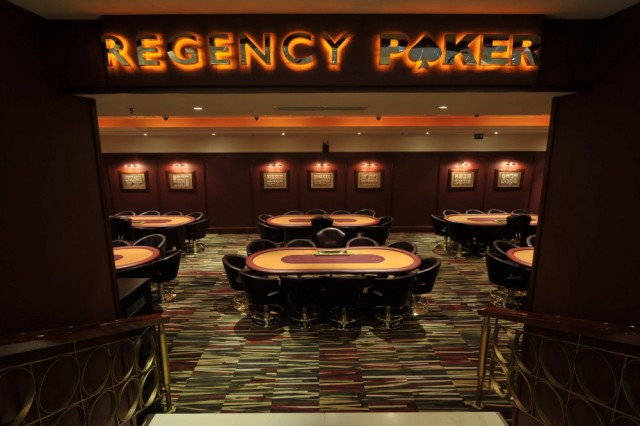 regency poker room