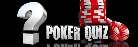 Poker quiz