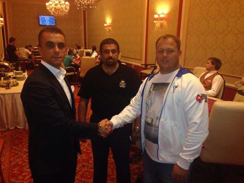 Μάξιμος Περτσινίδης με τον διευθυντή του καζίνο Princess
