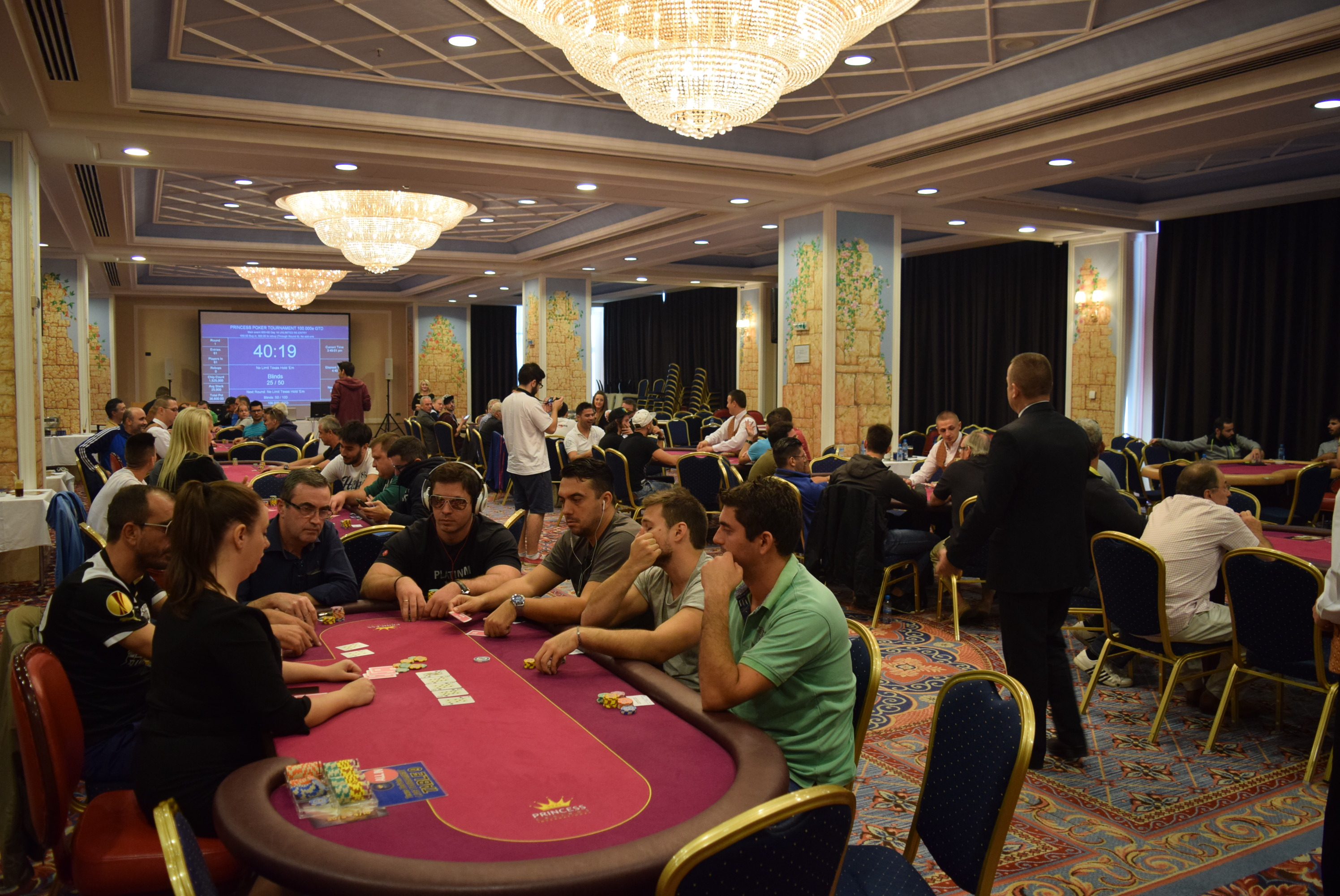 Pokerland / Slots gods of olympus